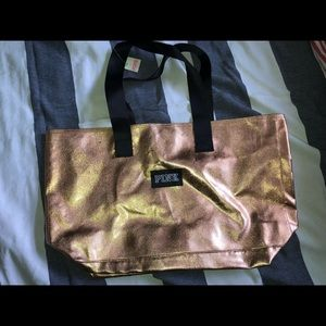 NWT Rose Gold VS PINK Tote